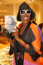 Grace Jones - Presents and Dedicates Her Book