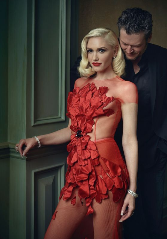 Gwen Stefan – 2016 Vanity Fair Oscar Party Portrait