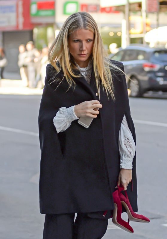 Gwyneth Paltrow - Out in New York City, 3/18/2016