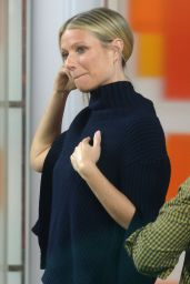 Gwyneth Paltrow - Visits the Today Show in New York City, March 2016
