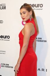 Hailey Baldwin – 2016 Elton John AIDS Foundation's Oscar Viewing Party in West Hollywood, CA