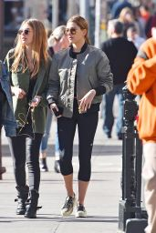 Hailey Baldwin - Out With Friends in New York City 3/11/2016