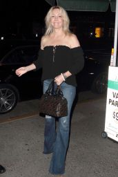 Heather Locklear Night Out Style - Arrives at Madeo Restaurant in Los Angeles 3/10/2016
