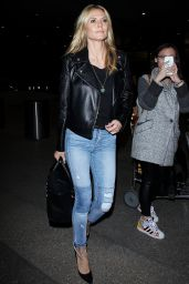 Heidi Klum - Los Angeles International Airport 3/17/2016