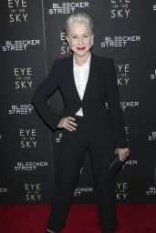 Helen Mirren - Eye In The Sky Premiere in New York City