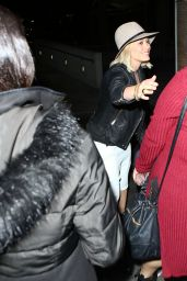 Hilary Duff at Justin Bieber Concert - Staples Center in LA 3/21/2016