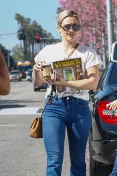 Hilary Duff in Jeans - Out in Los Angeles, CA 2/29/2016