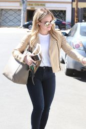 Hilary Duff Style and Fashion Inspirations - Out in Los Angeles 3/24/2016