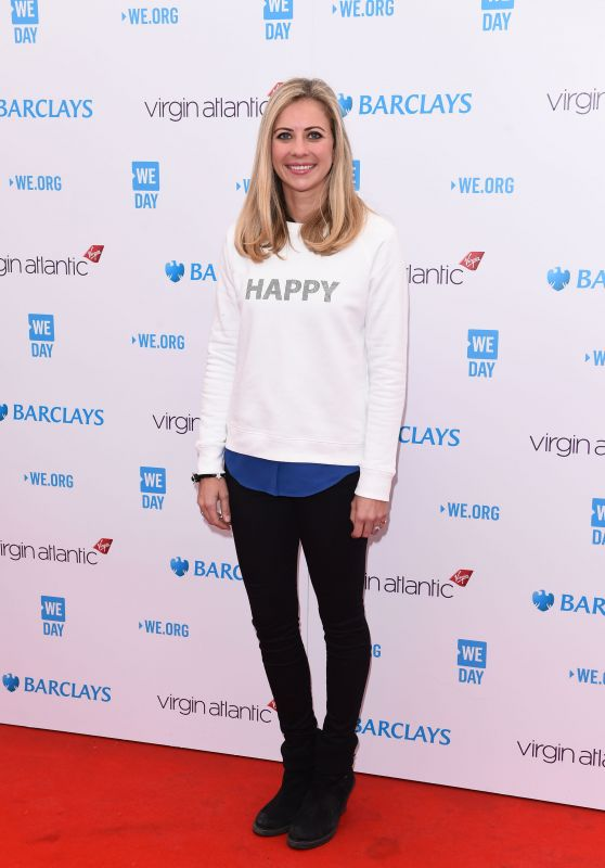 Holly Branson - We Day UK 2016 Held at SSE Arena Wembley, London