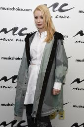 Iggy Azalea at Music Choice in New York City, 3/23/2016