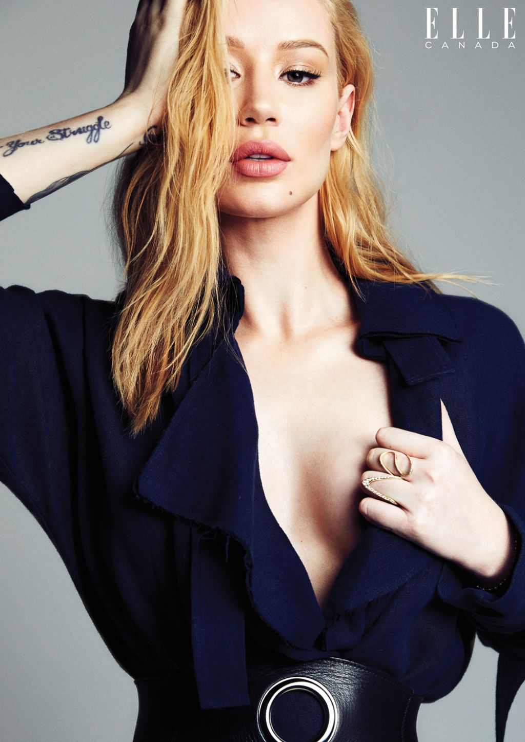 Iggy Azalea - Elle Magazine Canada April 2016 Photos-4474