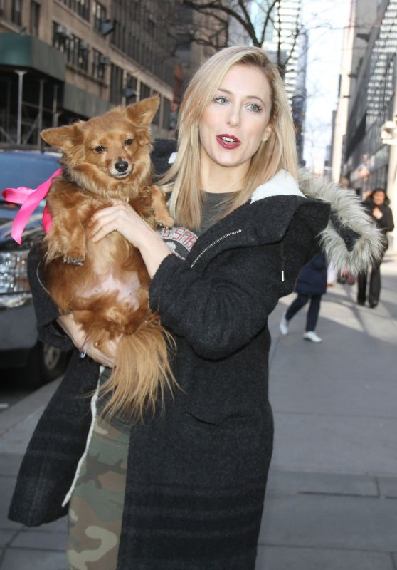 Iliza Shlesinger Head to the Today Show in New York City 3/7/2016