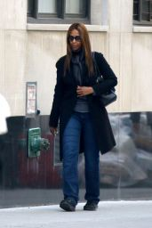Iman - Shopping on Fifth Avenue in NYC 3/7/2016