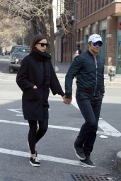 Irina Shayk and Bradley Cooper - Walking and Holding Hands in the West Village, March 2016