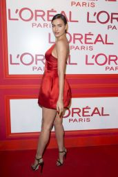 Irina Shayk – L'Oreal Red Obsession Party – Paris Fashion Week 3/8/2016