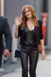 Isla Fisher - Arriving at the ABC Studios for Jimmy Kimmel Live in Los Angeles 3/11/2016