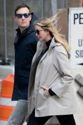 Ivanka Trump and Jared Kushner - Walking to Lunch in the Upper East Side 3/27/2016