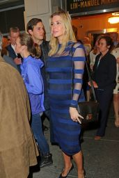 Ivanka Trump - Leaving Broadway Show Hamilton in New York City, March 2016