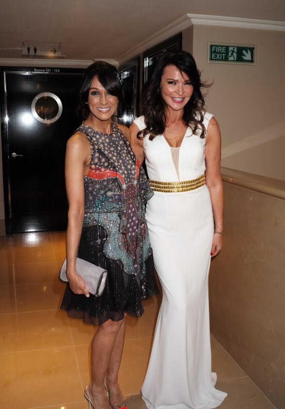 Jackie St Claire & Lizzie Cundy – Despite the Falling Snow Charity Gala Screening in London, March 2016
