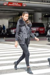 Jamie Chung Street Style - LAX Airport in Los Angeles 3/3/2016