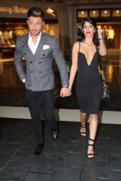 Jasmin Walia and Boyfriend Ross Worswick in Las Vegas 3/6/2016