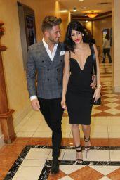 Jasmin Walia and Boyfriend Ross Worswick in Las Vegas 3/6/2016