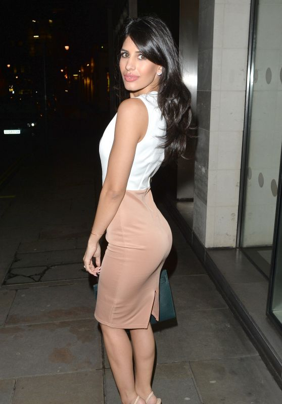Jasmin Walia - Mahiki Cocktail Bar and Club in London, March 2016