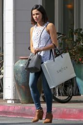 Jenna Dewan Tatum Casual Style -Shopping in Los Angeles, CA 3/20/2016