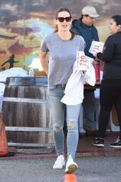 Jennifer Garner at a Charity Marathon in Brentwood, CA 3/6/2016