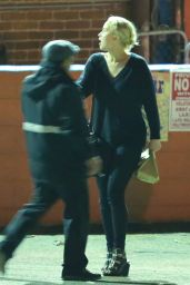 Jennifer Lawrence Candids - Leaving a Restaurant in Los Angeles 3/12/2016