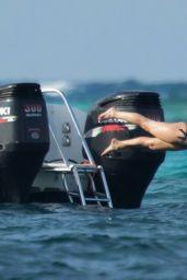 Jennifer Lawrence in a Bikini in Bahamas 3/4/2016