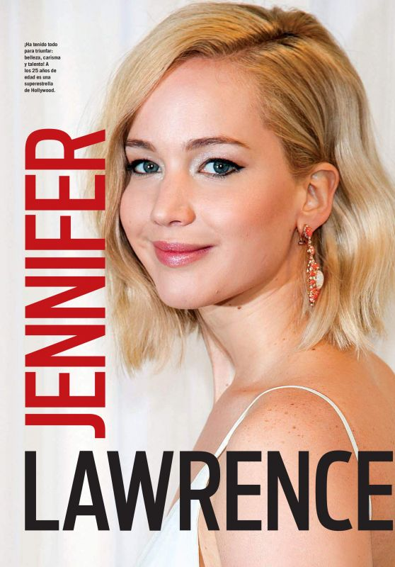 Jennifer Lawrence - Vanidades Magazine Colombia February 2016 Issue