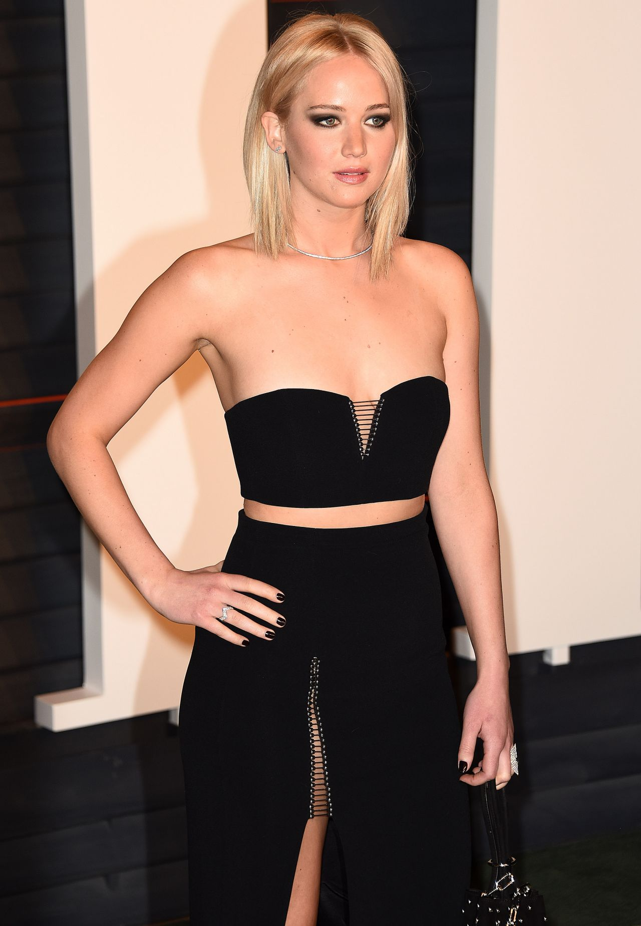 Jennifer Lawrence Vanity Fair Oscar 2016 Party In Beverly Hills Ca