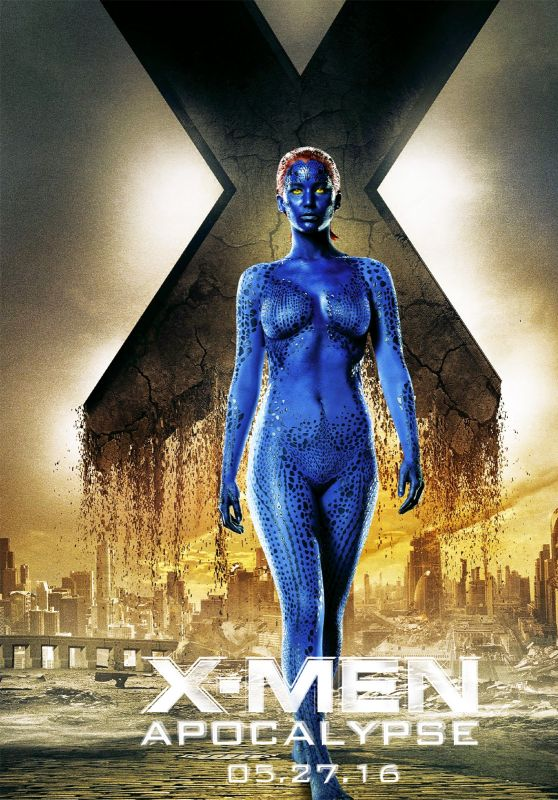 Jennifer Lawrence - X-Men: Apocalypse Poster