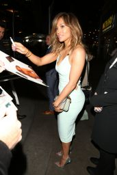 Jennifer Lopez - Arriving at a Movie Premiere in Hollywood 3/7/2016