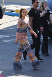 Jennifer Lopez - Heads in to American Idol in Los Angeles, March 2016