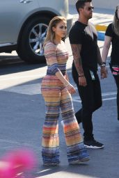 Jennifer Lopez - Heads in to American Idol in Los Angeles, March 2016