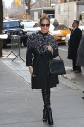 Jennifer Lopez Signing Autographs While Out in New York City 3/2/2016
