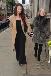 Jess Impiazzi Arriving at the Cineworld Haymarket in London, March 2016