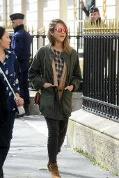 Jessica Alba Casual Style - Out in Paris 3/3/2016