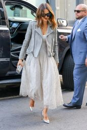 Jessica Alba Style - Out in New York City, 3/9/2016