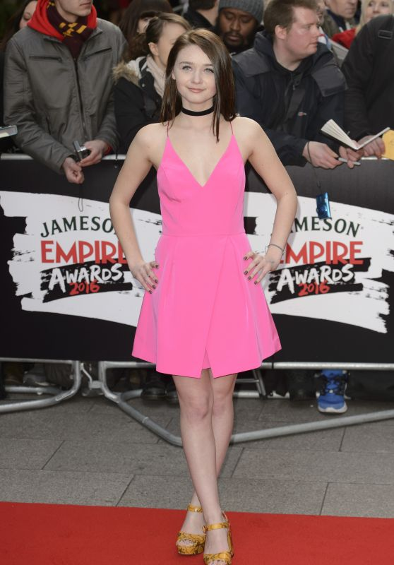 Jessica Barden – The Jameson Empire Film Awards 2016 in London