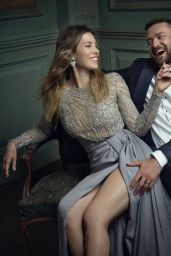 Jessica Biel – 2016 Vanity Fair Oscar Party Portrait