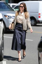 Jessica Biel Style and Fashion Inspirations - Shopping in Beverly Hills 3/24/2016