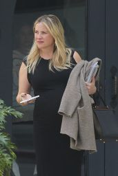 Jessica Capshaw - Waiting For Her Car in Beverly Hills, March 2016