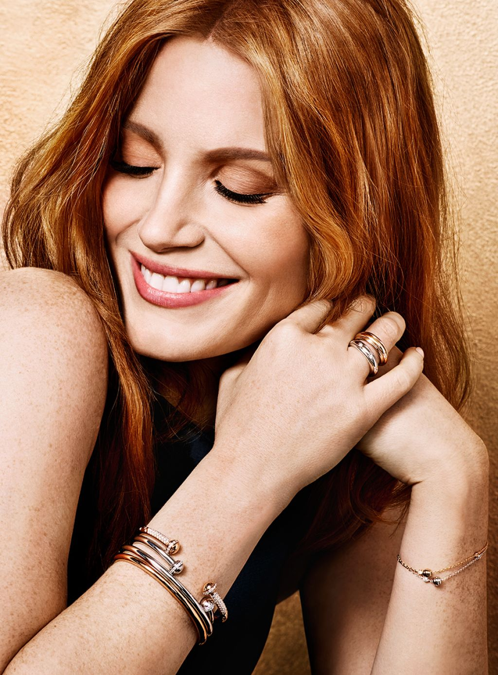 Jessica Chastain - Photo Shoot for Piaget 2016 Ad Campaign Jessica Chastain