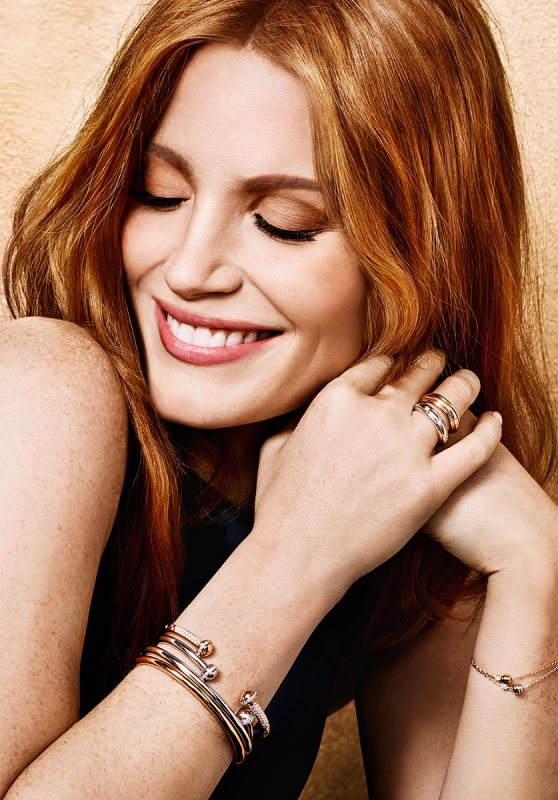 Jessica Chastain - Photo Shoot for Piaget 2016 Ad Campaign
