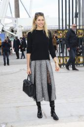 Jessica Hart - Valentino Fashion Show in Paris, March 2016
