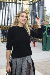 Jessica Hart - Valentino Fashion Show in Paris, March 2016