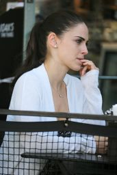 Jessica Lowndes at Lunch With a Friend in West Hollywood 3/15/2016